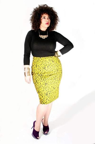 Gotta Have it:  Joma Ankara Skirt from DearCurves