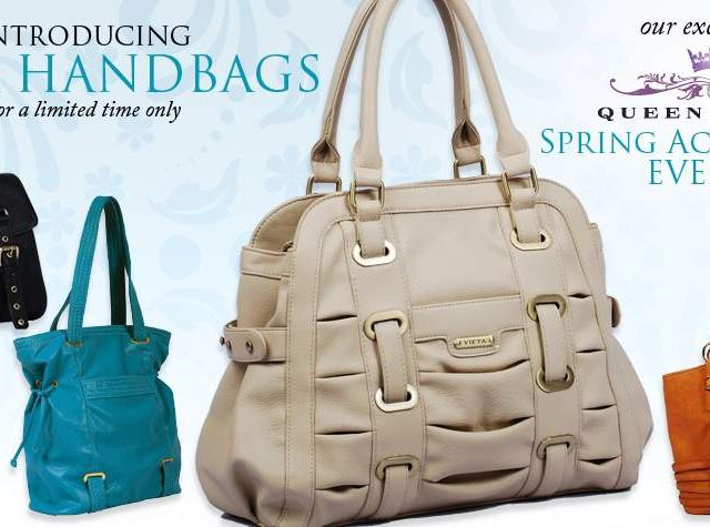 Accessorize to Maximize- Queen Grace Limited Edition Vieta Bag Collection
