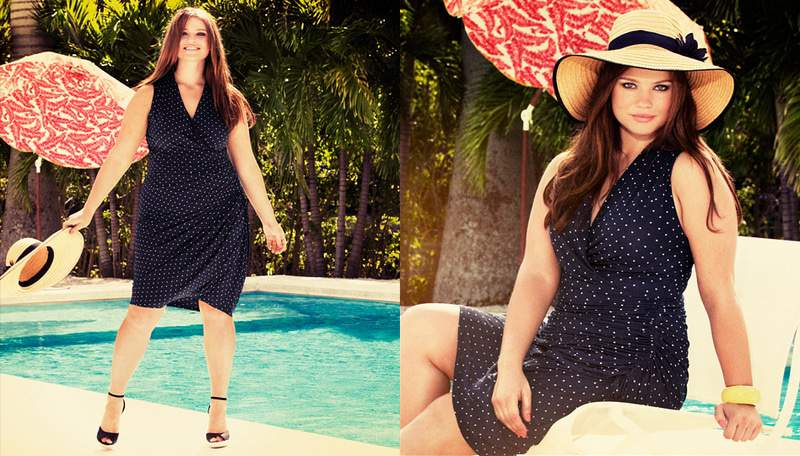 Tara Lynn for H&M+ Swim 2012