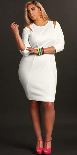 Plus Size Designer Monif C Whitley Dress