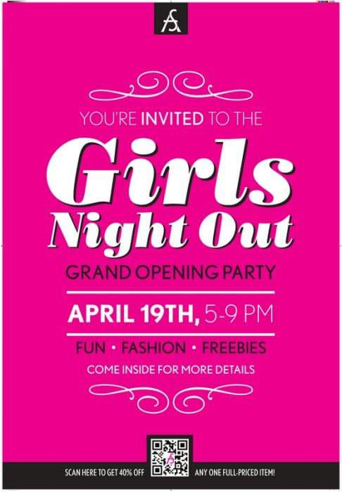 Ashley Stewart's Girl's Night Out Grand Opening at Southland Mall