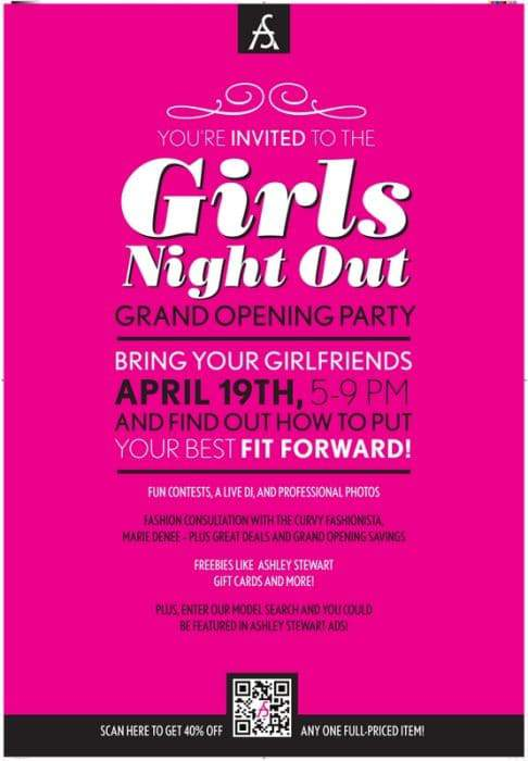 The Curvy Fashionista Hosts Ashley Stewart's Girl's Night Out Grand Opening at Southland Mall