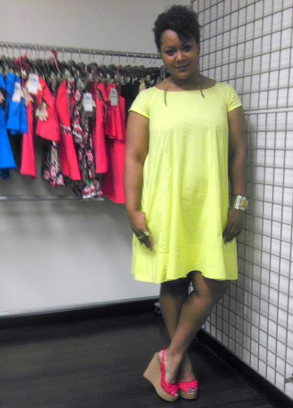 What I wore to the Becca Event