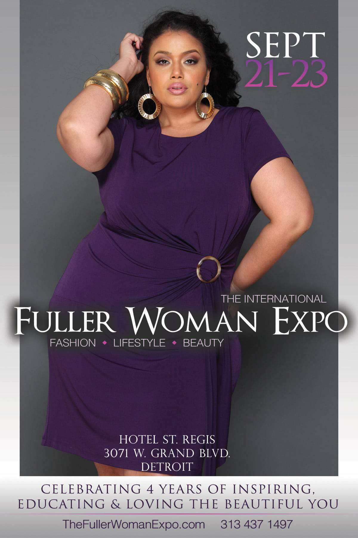 The 4th Annual Fuller Woman Expo in Detroit