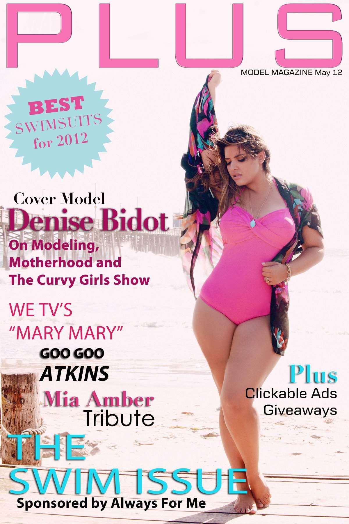 Plus Model Magazine Swim Issue May 2012