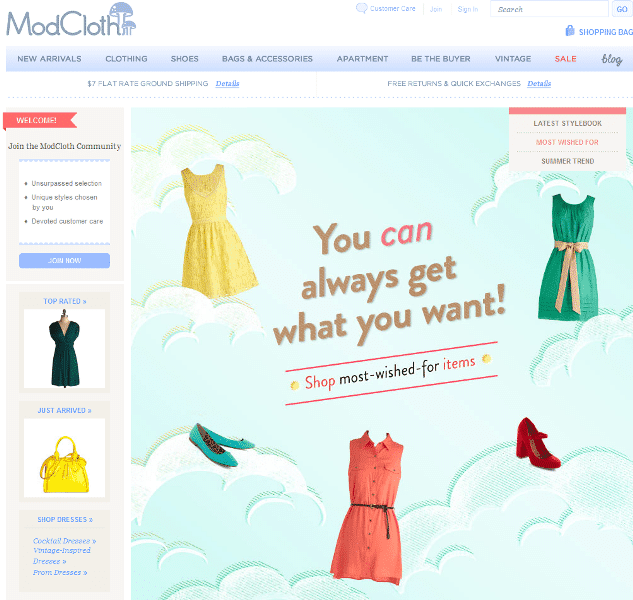 Mod Cloth announces it will create plus sizes