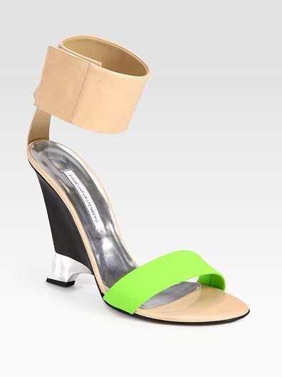 DVF Elan Colorblocked Shoe at Saks Fifth Ave