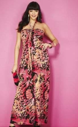 JD Williams Plus Size Animal Print Dress 330f07726