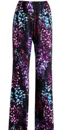 JD Williams Plus Size Johanna Hope Printed Palazzo Pants