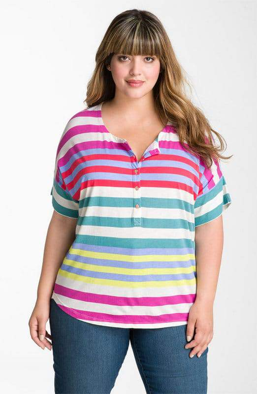 Splendid in Plus Size at Nordstrom: Tropical Top
