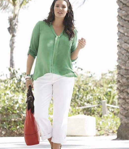 Splendid in Plus Size at Nordstrom: Roll Sleeve Top