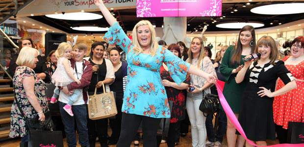 Gemma Collins Opens Simply Be