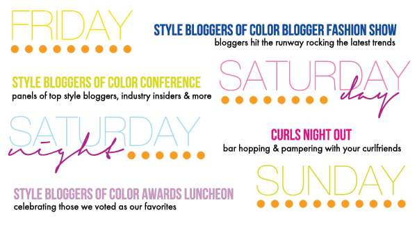 Style Bloggers of Color Conference Schedule of Events