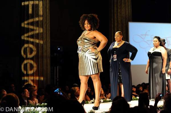 The Curvy Fashionista at FFFWeek- What She Wore