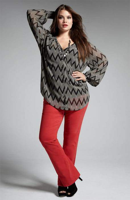 Nordstrom Anniversary Sale- Encore Plus Sizes: Bellatrix Tunic