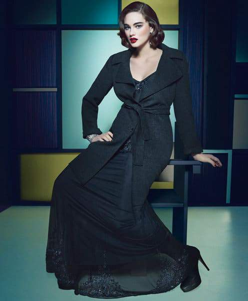 Marina Rinaldi Fall 2012 Campaign