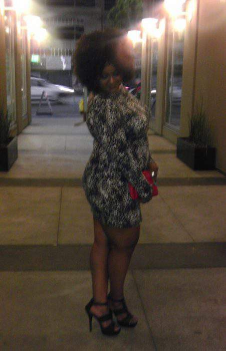 Marie's outfit at The Necole Bitchie Event