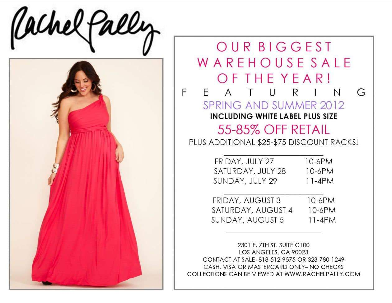 Rachel Pally Spring Summer 2012 Sample Sale