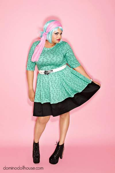 Fall 2012 Plus Size Designer Look Book: Urban Mermaids by Domino Dollhouse