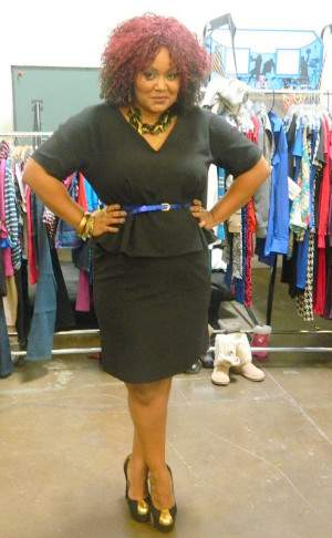 OOTD: Seeing Peplum in Clements Ribeiro for Evans