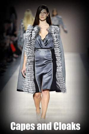 Fall 2012 Trends for Plus Size Fashion: Capes and Cloaks
