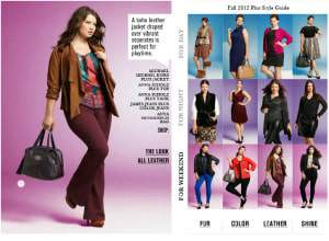 Bloomingdales Fall 2012 Plus Size Trend Guide