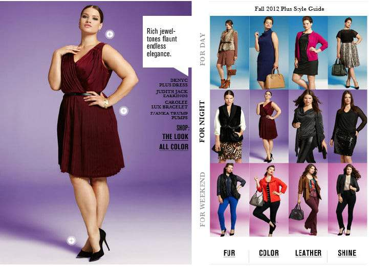 Bloomingdales Releases Its Plus Size Trend Style Guide The Curvy
