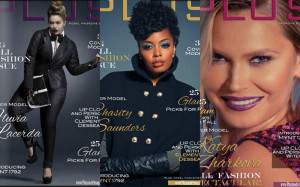 Plus Model Magazine Three Cover September Issue