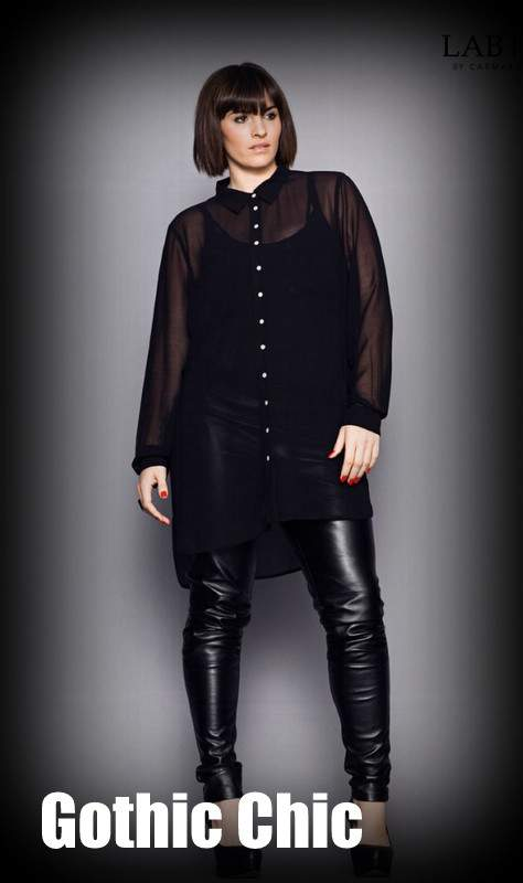 Fall 2012 Trends for Plus Size Fashion: Gothic Chic