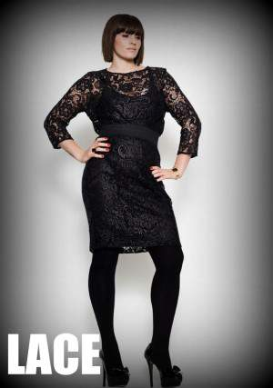Fall 2012 Trends for Plus Size Fashion: Lace