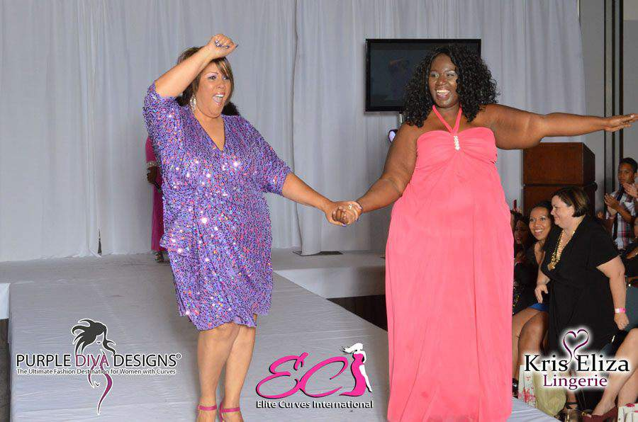 Out and About Haute Curves Made History during LA Fashion Week