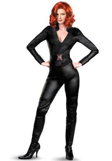 Plus Size Black Widow Costume from Avengers