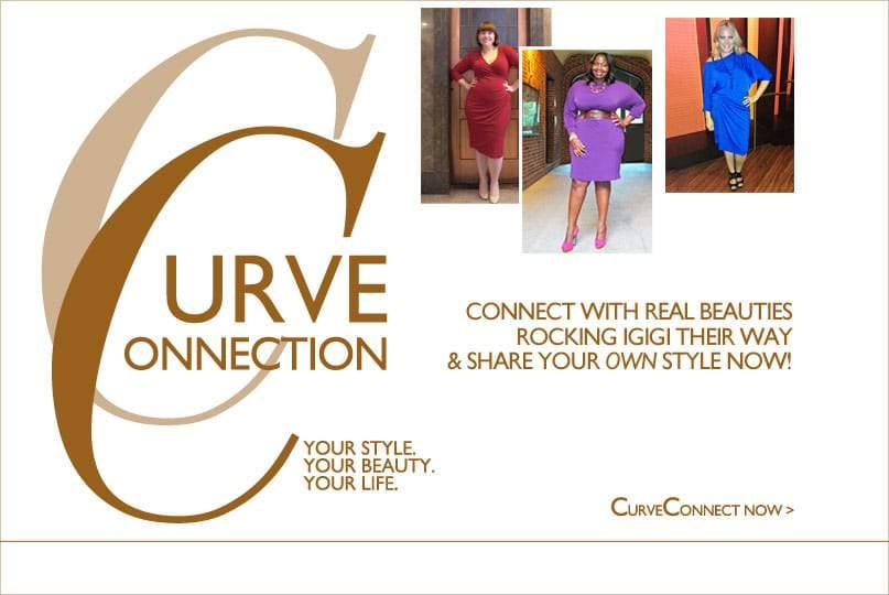 Igigi Unveils their new Plus Size Fashion Community Curve Connection