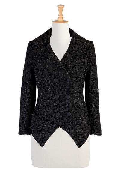 EShakti Boucle Tweed Jacket