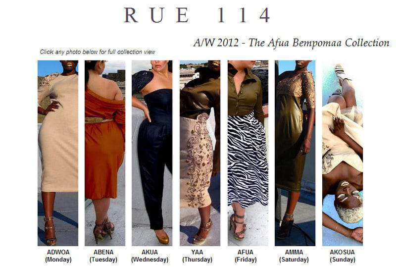 The Sophomore Fall 2012 Collection of Rue 114 Stuns