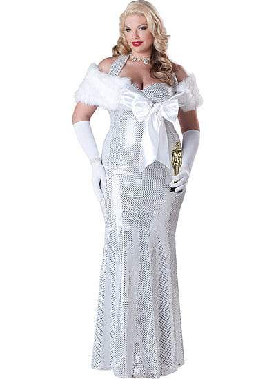 Plus Size Hollywood Starlet Costume