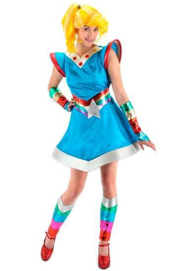Plus Size Rainbow Brite Costume