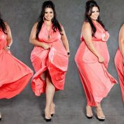 Plus SIze Model Rosie Mercado beyond a size 3X