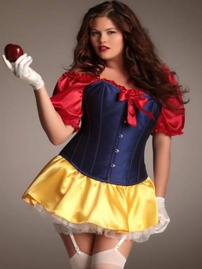 Plus Size Snow White Costume