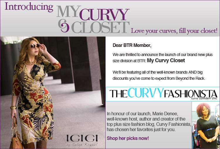 My Curvy Closet by Beyond the Rack