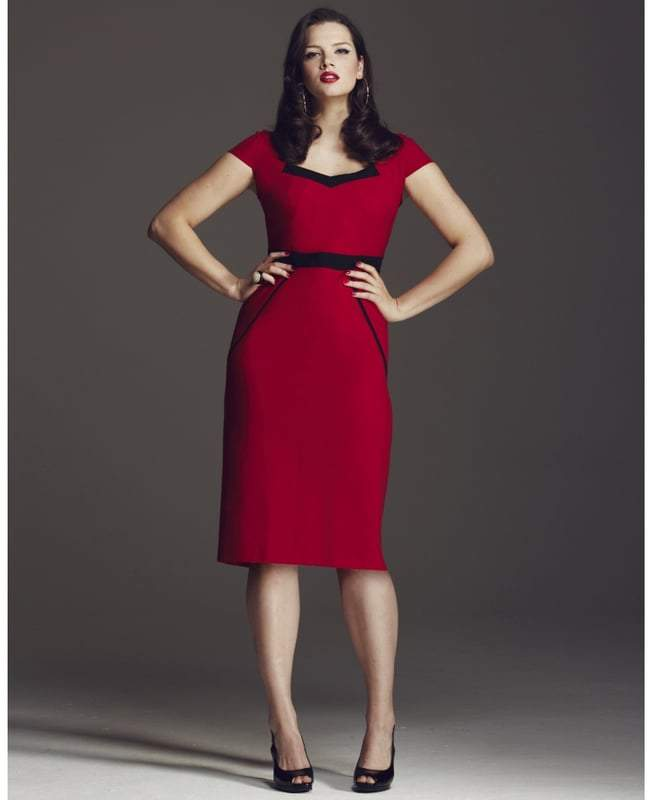 Anna Scholz for Simply Be Contrast Pencil Dress