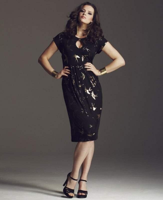 Anna Scholz for Simply Be Bird Dress