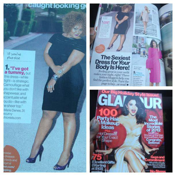 Have You Checked out the December Issue of Glamour?