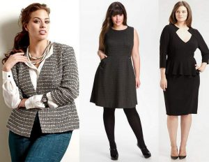 Over 50, Plus Size and Wear to Work Style