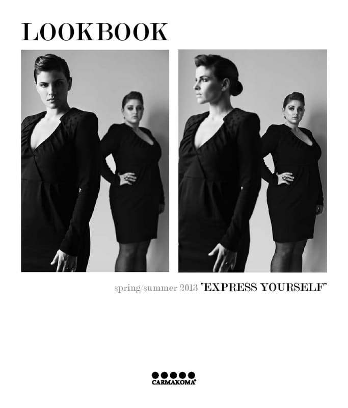 "Plus Size Designer: CarmaKoma Spring 2013 ""Express Yourself"""