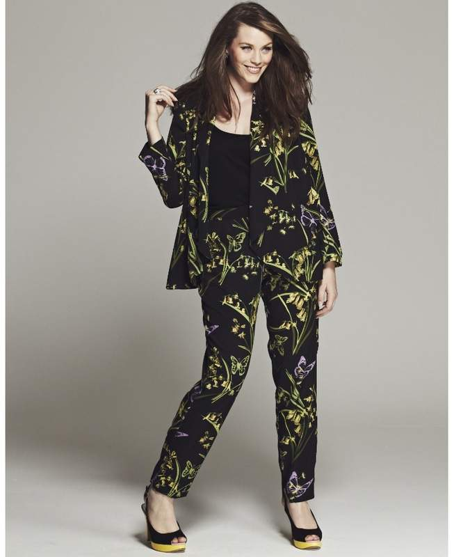 Simply Be Plus Size BESPOKE BROOKE FLORAL BELTED SUIT