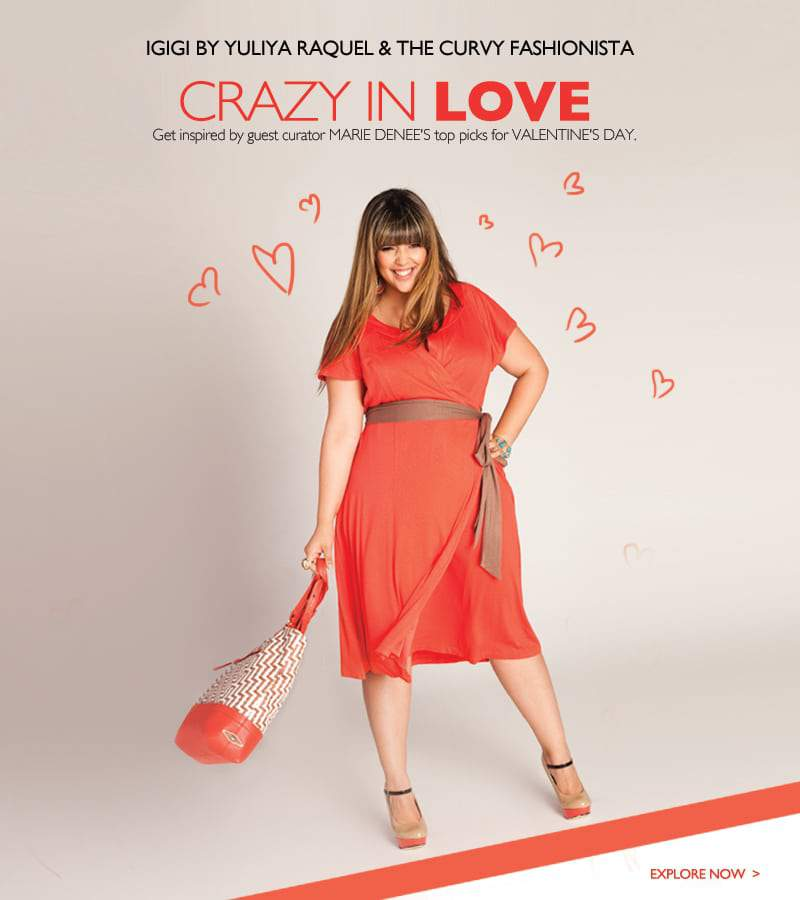 A Plus Sized Valentine's: We are Pinning with Igigi