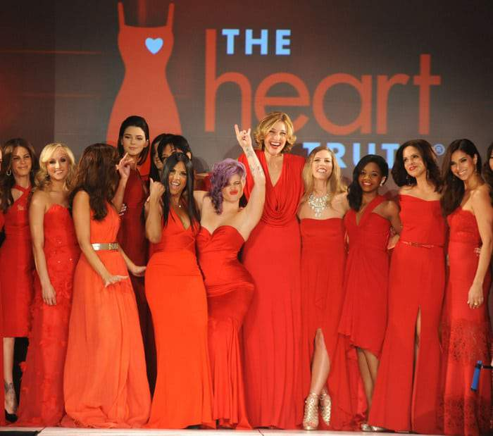 "NYFW: Red Dress Collection 2013 ""Heart Truth Campaign"""