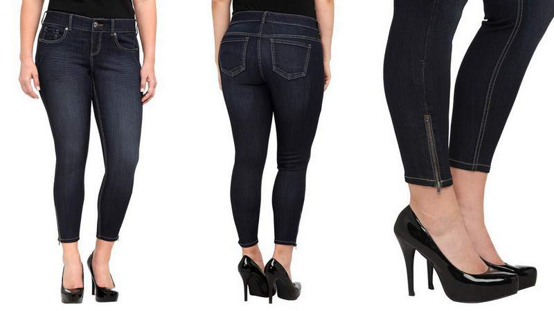 The Plus Size Stiletto Jean from Torrid- 26 Inches