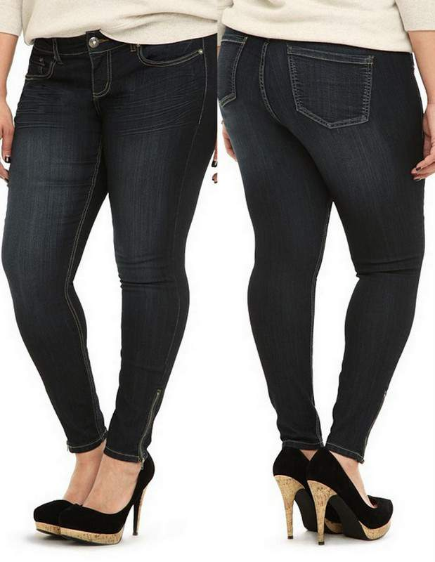 The Plus Size Stiletto Jean from Torrid - 28 Inches